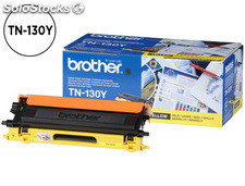 Toner brother tn-130y hl-4040cn/4050cdn/4070cdw dcp-9040/9045 mfc-9440/9840