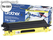 Toner brother tn-135y hl-4040cn/4050cdn/4070cdw dcp-9040/9045 mfc-9440/9840