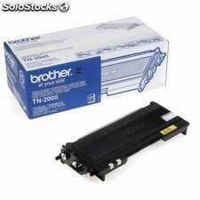 Toner BROTHER tn-2005 1500 paginas negro