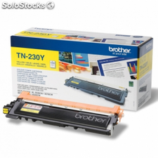 Toner brother tn-230 1400 paginas amarillo