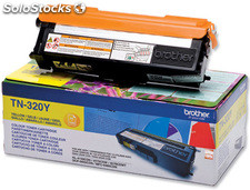 Toner brother tn-320y amarillo -1,500pag- hl-4140cn hl-4150cdn hl-4570cdw