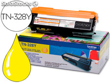 Toner brother tn-328y amarillo -6,000pag-hl-4570cdw dcp-9270cdw mfc-9970cdw