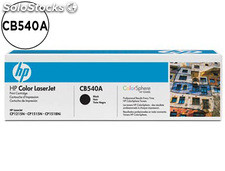 Toner hp cb540a color laserjet cp-1215/cp-1515/cp-1518 negro with colorsphere