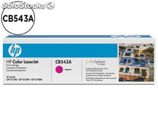 Toner hp CB543A color laserjet CP-1215/CP-1515/CP-1518 magenta with colorsphere