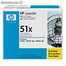 Toner hp color negro pack