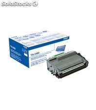 Toner laser negro 8000paginas alta capacidad brother tn-3480
