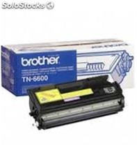 Toner laser negro hl1440 tn-6600 brother 6000pag