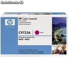 Toner magenta HP c9723a 8000 pags Laserjet color series 4600 / 4610 / 4650