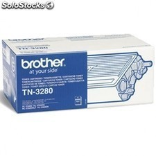 Toner negro brother 8000 paginas para brother laser dcp-8085dn/hl-5340d/5370