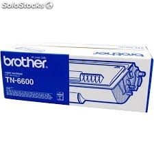 Toner original Brother tn6600 / tn-6600 negro