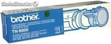 Toner original Brother tn8000 / tn 8000 negro Fax 8070P