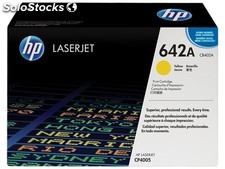 Toner original Hp CB402A amarillo 642a Color Laserjet CP 4005