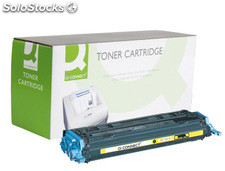 Toner q-connect compatible hp 1600/2600 yellow compatible Q6002A -2.000PAG-