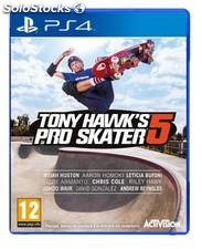 Tony hawk pro staker 5/PS4