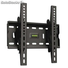TooQ - soporte inclinable para monitor / tv lcd, plasma de 17-37, negro