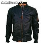 Top gun mens woven nylon jacket navy