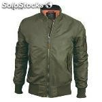 Top gun mens woven nylon jacket sage