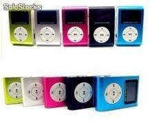 Top mini clip MP3 player lcd display 2gb 4gb 8gb via micro sd usb