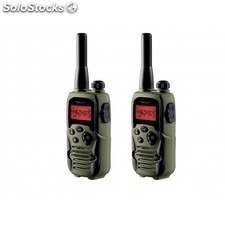 Topcom - Twintalker 9500 Airsoft Edition 8channels 446MHz Negro, Verde two-way
