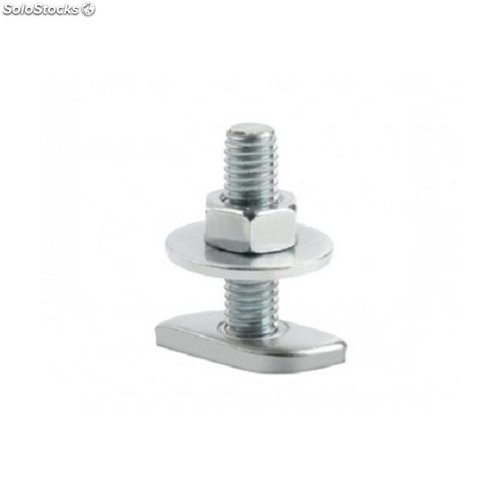 Tope Tornillo Guia Perforada 6X20Mm Cinc To-Gu Index 100 Pz