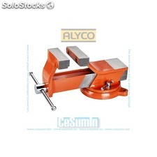 Tornillo de banco acero 125 mm High Resistance - ALYCO - Ref: 171015
