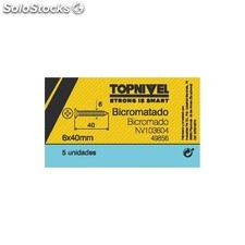 Tornillo R/Mad. 06X40Mm Bicromat. Nivel 5 Pz