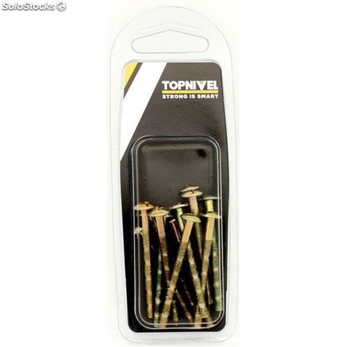 Tornillo Tirador Multicorte M4X45Mm Bicromat. Nivel 12 Pz