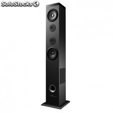 Torre de sonido energy tower 5 bluetooth black - 2.1 - 60w rms - lector