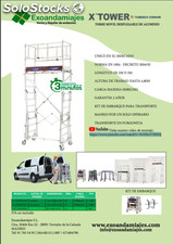 Torre movil de aluminio desplegable