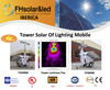 Torre solar de iluminacion / solar lighting tower FHS600A - Foto 5