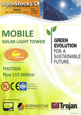 Torre solar de iluminacion / solar lighting tower FHS700A
