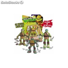 Tortugas Ninja Figura Battle Shell