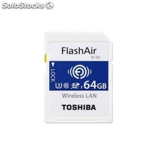 Toshiba - Flashair w-04 64GB sdxc uhs-i Clase 3 memoria flash