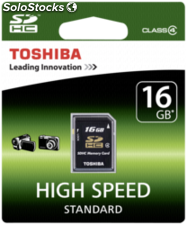 Toshiba SDHC tarjeta clase 4 16GB High Speed Standard