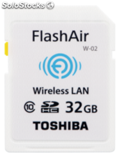 Toshiba Wireless sdhc 32GB Flash Air Clase 10
