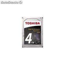 Toshiba - X300 4TB 4000GB Serial ata iii disco duro interno