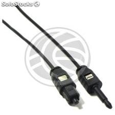 TosLink Digital Optical Audio Cable 1m (T/MT) (TL11)