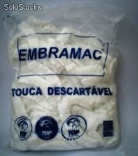 Touca descartavel com elastico - c/100 - embramac