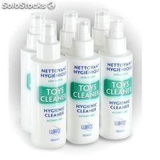 Toy cleaner limpiador juguetes lubrix 125ML / pack 6 uds