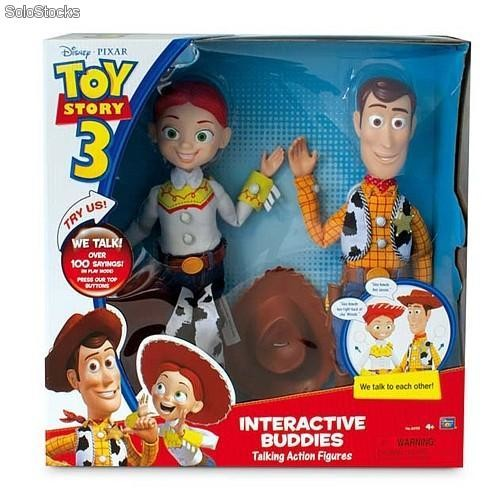 80901d438a00f Toy Story. Woody y Jessie personajes interactivos barato