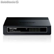 TP-LINK - 16-Port 10/100Mbps Desktop Switch Unmanaged network switch Color