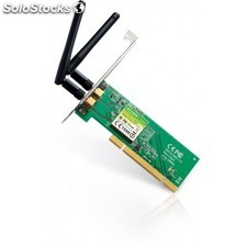 TP-LINK - 300Mbps Wireless N PCI Adapter Interno WLAN 300Mbit/s adaptador y