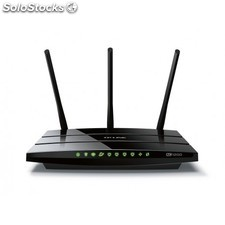 TP-LINK - AC1200 Doble banda (2,4 GHz / 5 GHz) Gigabit Ethernet Negro router