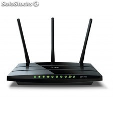 TP-LINK - Archer C7 Doble banda (2,4 GHz / 5 GHz) Gigabit Ethernet Negro router