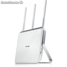 TP-LINK - Archer C8 Doble banda (2,4 GHz / 5 GHz) Gigabit Ethernet Blanco router