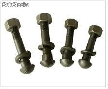 track bolts, rail bolts, rail clip bolts, fish bolts