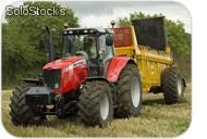 Tractor 197 hp - mf 6495 dt