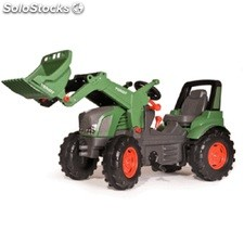 Tractor a pedales fendt 939 con pala.