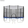 Trampolina athletic24 244 z siatką