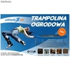 Trampolina athletic24 305 z siatką